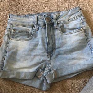 Never worn, jean shorts